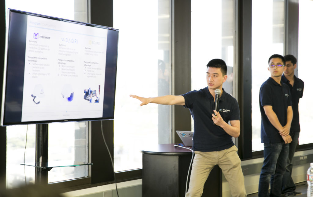 Skydeck AR-VR pitch competition
