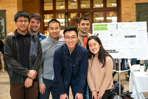 Data-X Poster Session shows breadth of AI projects